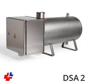 Doorsroomapparaat RVS 40kW-3x400-3x440V