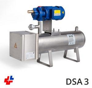 Doorstroomapparaat RVS thermische olie met pomp 5kW-3x400V
