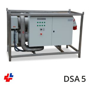 Flow device, Circulation heater AISI 200kW-400V3F