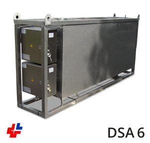Doorstroomapparaat RVS 100kW-3x400V geisoleerd