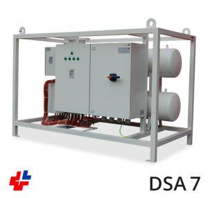 Doorstroomapparaat 200kW-3x400V RAL9010