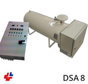 Doorstroomapparaat 100kW-3x400V PLC besturing RAL9010