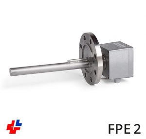 Flange heater with ceramic element NW80 DIN2512-F