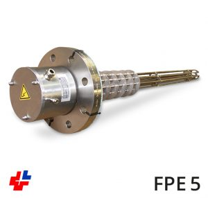 Flange heater NW80 cryo-technology