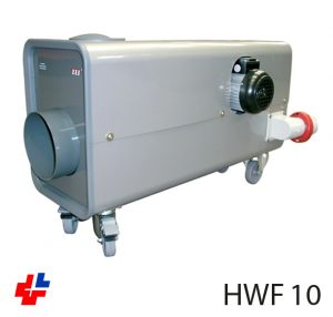 Hor air generator including control