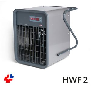 Fan heater, Airblow heater type AER, electronic control