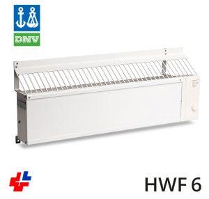 Convectorkachel, Marineheater T2RIB met DNV keur