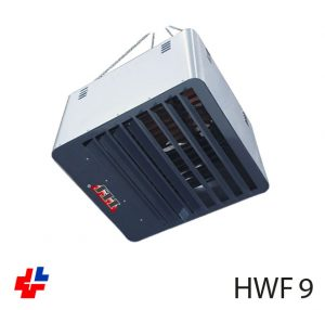 Ceiling mounted industrial heater
