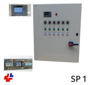 Regelkast 100kW met PLC besturing