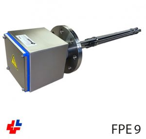Flange heater 2,5kW NW80 Food grade for oil