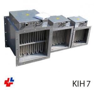 Luchtverhitter KIH, RVS 316L ISO 15138 met flowbewaking